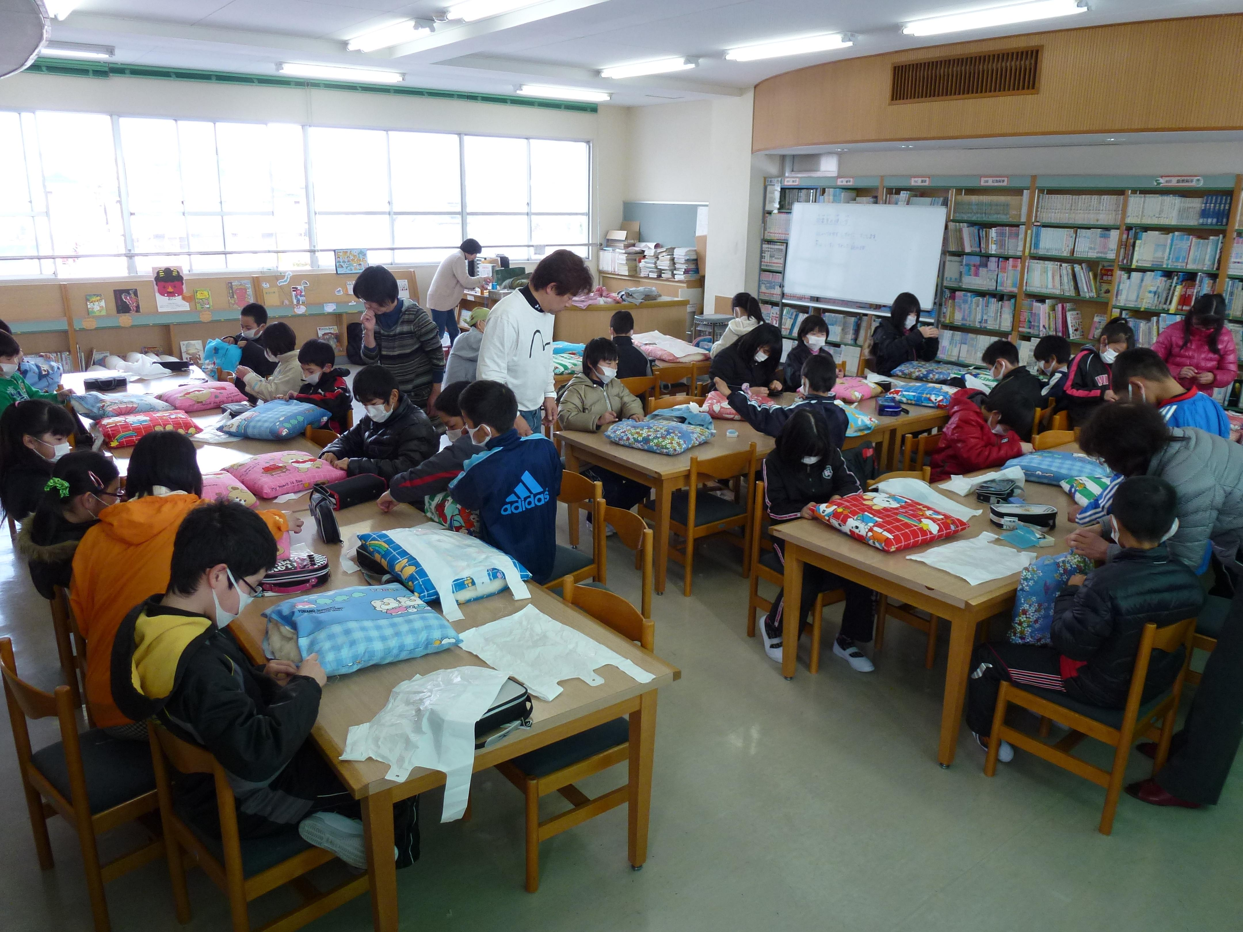 神田小学校 寝具